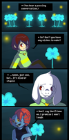 Undertale Comic - Echo Flowers' Story by Niutellat