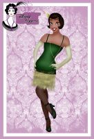 Disney Flapper - Tiana by HelleeTitch