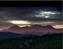 mountains by chanchaljain
