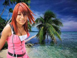 Kairi on Destiniy Islands by SteveRGR