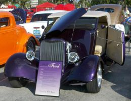 1933 purple ford by Devilgirl007