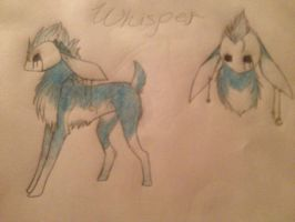 Whisper temporary ref by WolfStarr7