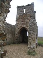 Knowlton Church Ruin 21 by LadyxBoleyn