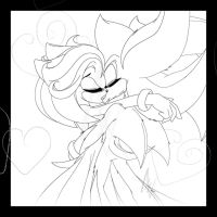 Shadamy: 'XOXO' -- WIP by MiakodaTheBright