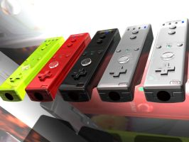 Five-Wii Lineup 01 by Modeler-Zeroin