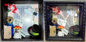 alice in wonderland shadow box by RaheHeul