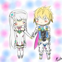 Elsword Chung x Eve (Take My Hand) by SkyMintPanda