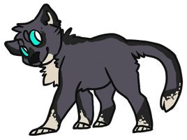 Cat Chibi by Crocodiie
