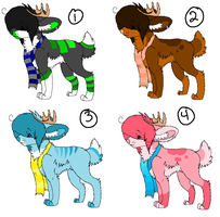 Adoptables Batch - CLOSED by xXNeverEndingFallXx