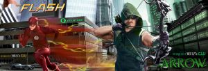 Arrow Season 4/ The Flash Season 2 Promo by fmirza95