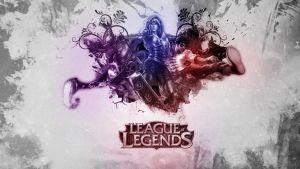 League of Legends Wallpaper by SMILYFACEvirus
