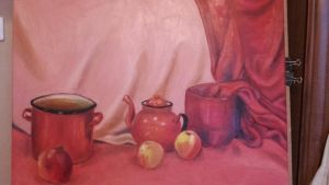 Red still life by another-awesome-girl