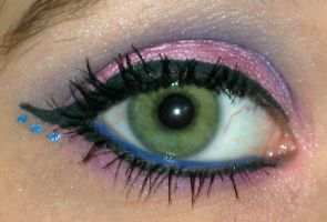 Sweet Butterfly Make Up Eye by Toxic-Sway