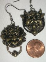 Labyrinth Door knocker Earrings by AnimeGeer