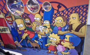 The Simpons - Redondo Beach Fun Factory by annehill