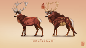 Autumn Leaves Exclusive Stag by Blackpassion777