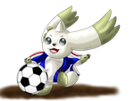 Playing Soccer by Icedragon300