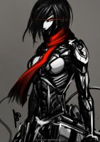 Mikasa Gear Rising by Accuracy0