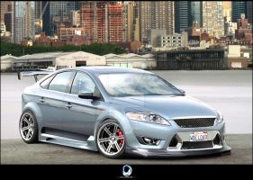 Ford Mondeo by Ophideus