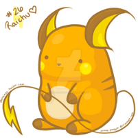 :RESUBMIT: Raichu by hyperfluffball