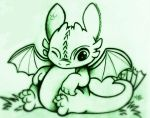 Baby Toothless by Alexbee1236