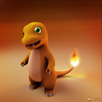 My Charmander Version by Luther2s