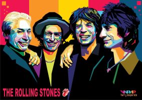 The Rolling Stones by harrypotro