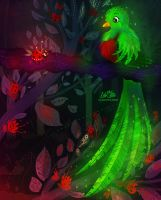 Quetzal meets Ladybug by LilaCattis
