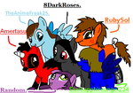MLP Collab. by 8DarkRoses