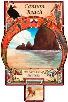 Cannon Beach by Ladymongoose