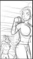 Hannah's Comic Preview Image 2-1 Detailed Lines by Pettyexpo