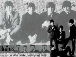 The Beatles song's - Wallpaper by BigEyesGreen89