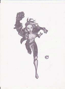 Rogue Sketch by rob-T512