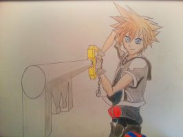 Sora - A hero, grown up by Pwnigator