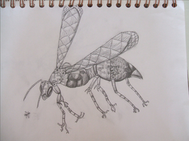 Robotic Wasp by oblivion-of-sanity