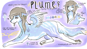 Plume-- OPEN, 10 dollars by Aoer