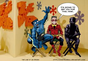 LIID 157: Beast and Wonder Man on The Dating Game! by johntrumbull