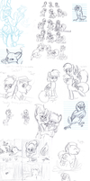 Biweekly School Sketches 12 by TickleMeFrosty