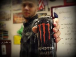 Monster can by Hayes-Designs