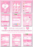 PinK Hearts by shalu2173