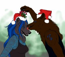 Mistletoe by Novawuff