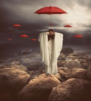red umbrella by cllozdemir