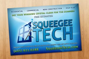 Squeegee Tech Flyer by ipholio