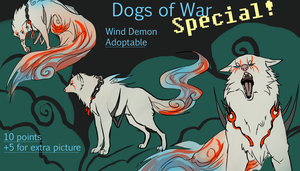 Special ADOPT! Wind Demon: CLOSED by DarkAngelFound