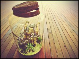 Castle in the Jar by sirithlainion