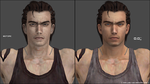 (Updated) Billy Coen retexture WIP by little--miss--mia