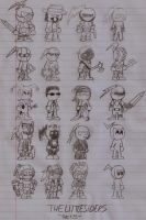 Original Characters- The Little Siders Set5 by DarkOliver