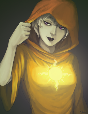 Seer of Light by PandaleonSaa