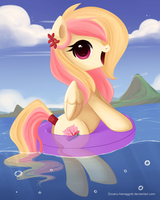 Summer vacations! YCH .:Heavenly Bliss:. by Exceru-Karina