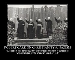 Robert Carr on Christianity and Nazism by fiskefyren